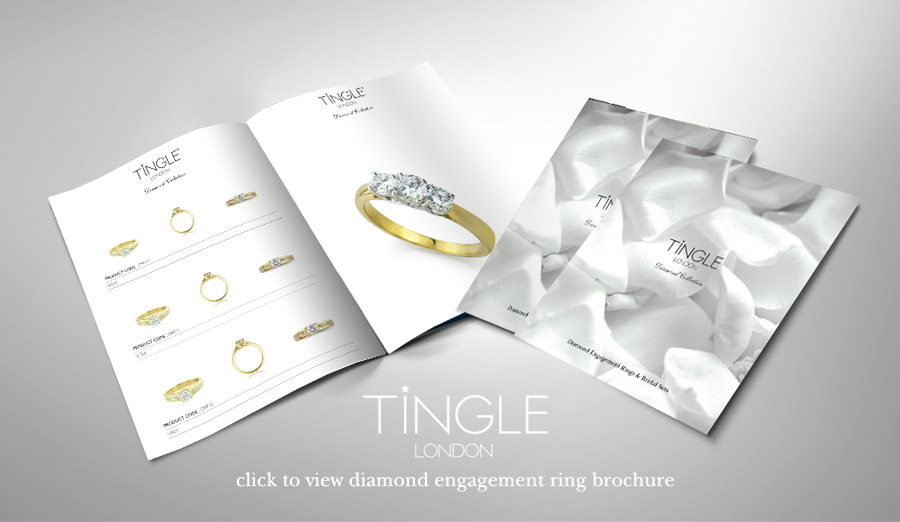 click to view our diamond engagement ring brochure