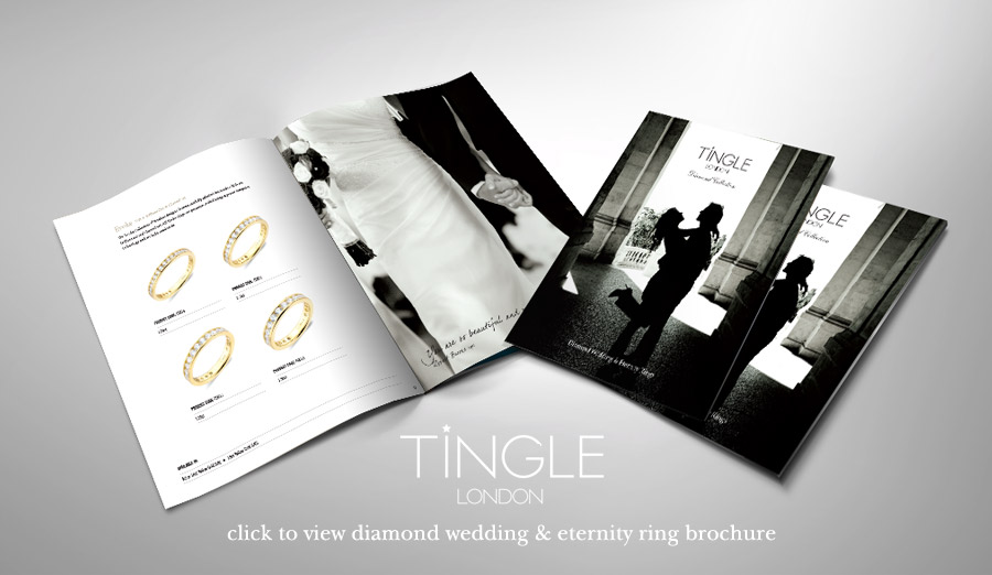 click to view our diamond wedding and eternity ring brochure