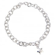Sterling Silver Lobster Catch Bracelet