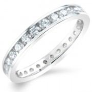 1.00ct Brilliant Cut Full Eternity Ring
