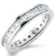1.00ct Baguette Cut Full Eternity Ring