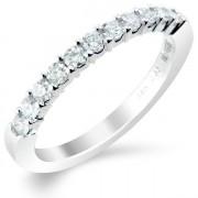 0.33ct Brilliant Cut Half Eternity Ring