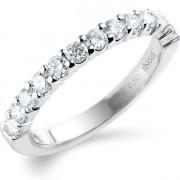 0.50ct Brilliant Cut Half Eternity Ring