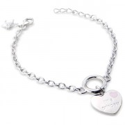 'Little Princess' Heart Bracelet